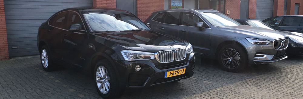 BMW X4 importeren